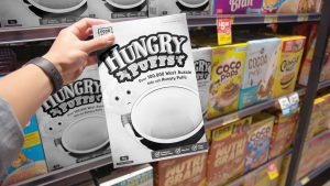 IGA and Foodbank's Hungry Puffs